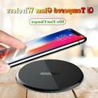 10W Qi Wireless Charger Pad Charging Dock for iPhone X 8 Sam