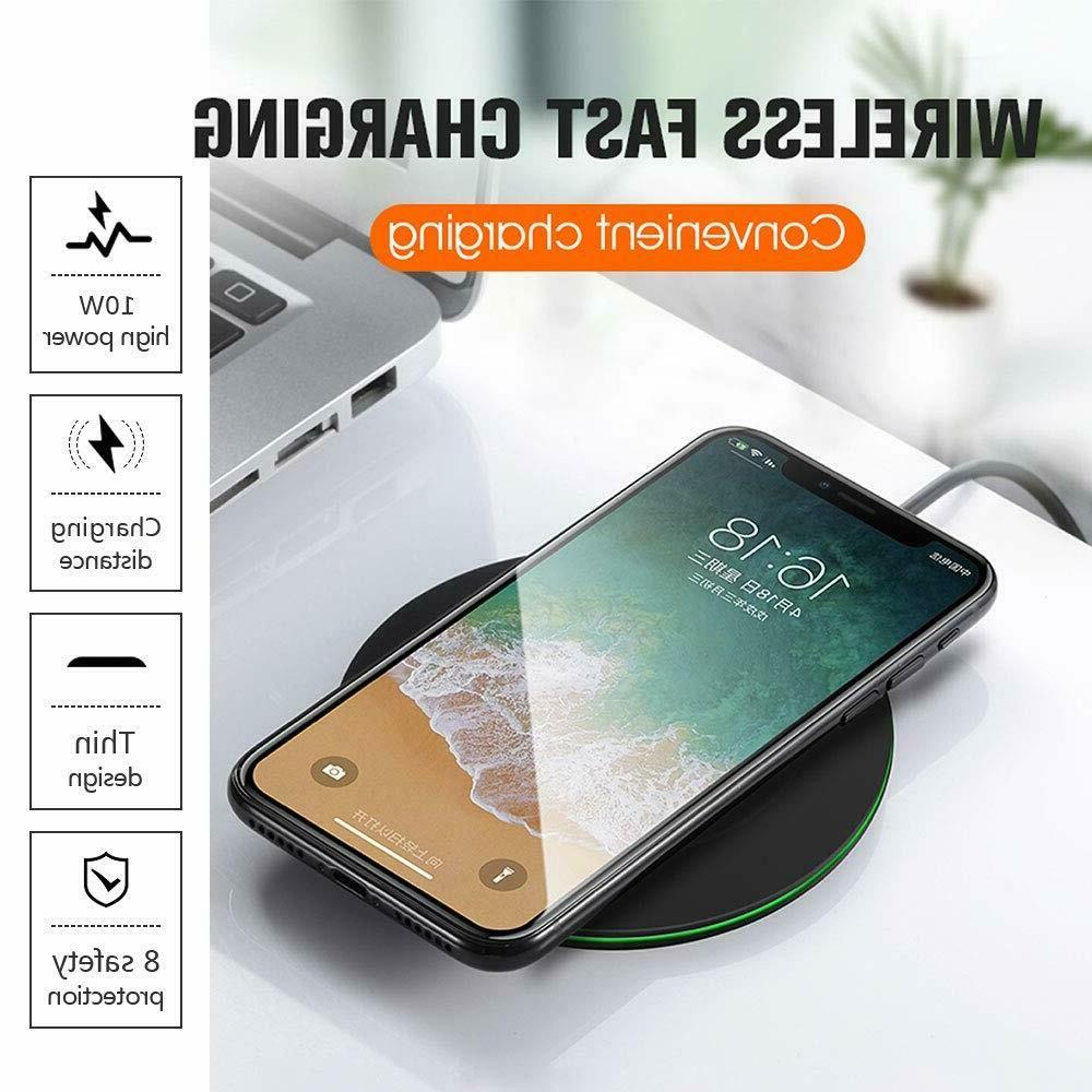 Ankor 10W Ultra Slim Fast Wireless Charger Pad iPhone XR