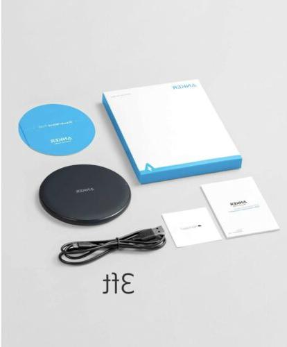 10w wireless charger qi certified charging pad