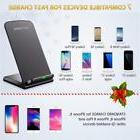 10W Wireless QI Fast Charger Charging Stand Holder For  Sams