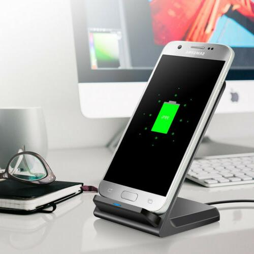 US FDGAO 10W Qi Wireless Charger Fast Charging For Samsung S