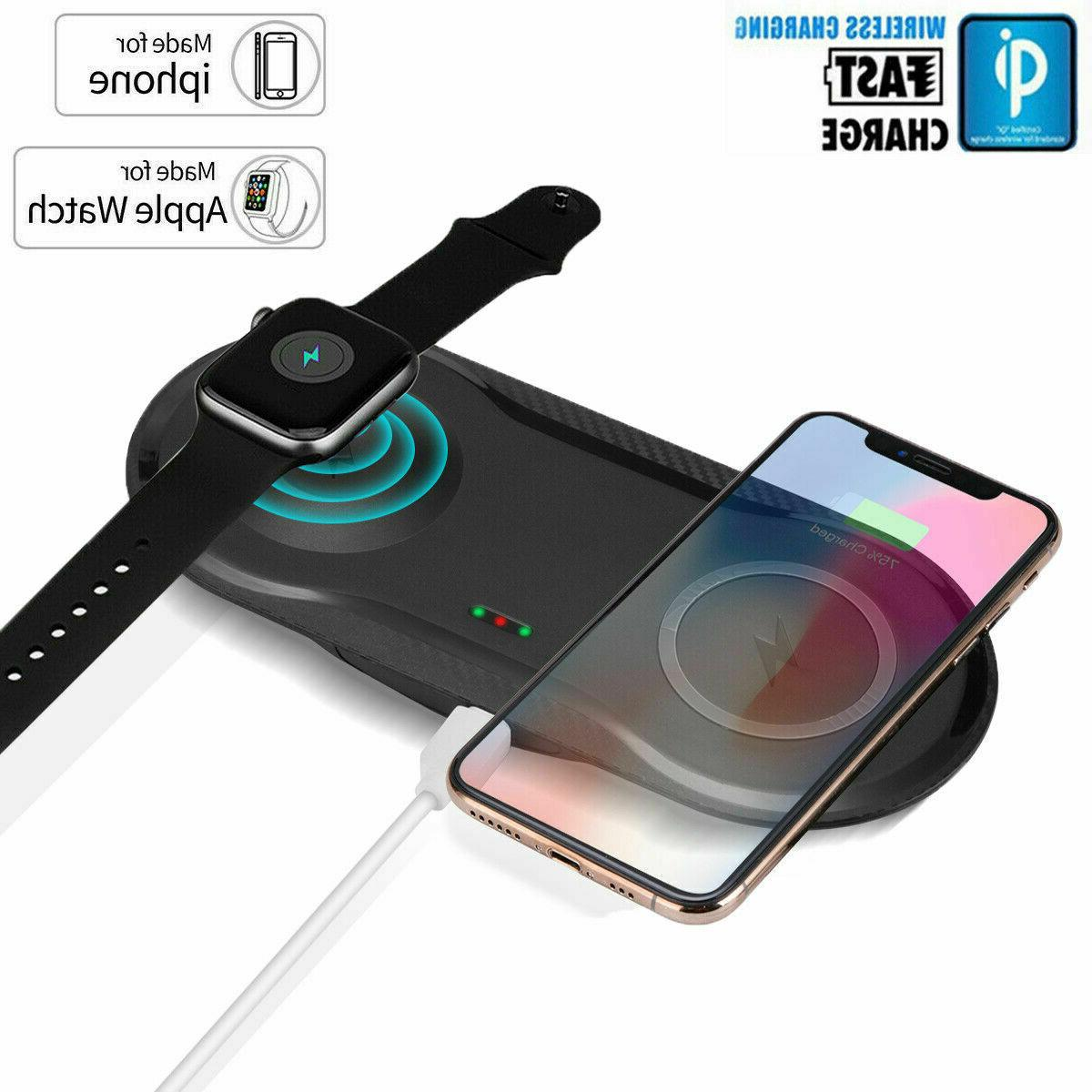 2 in 1 fast qi wireless charger