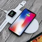 Funxim X8 2 in 1 Wireless Fast Charger For Apple iPhone 8 8P