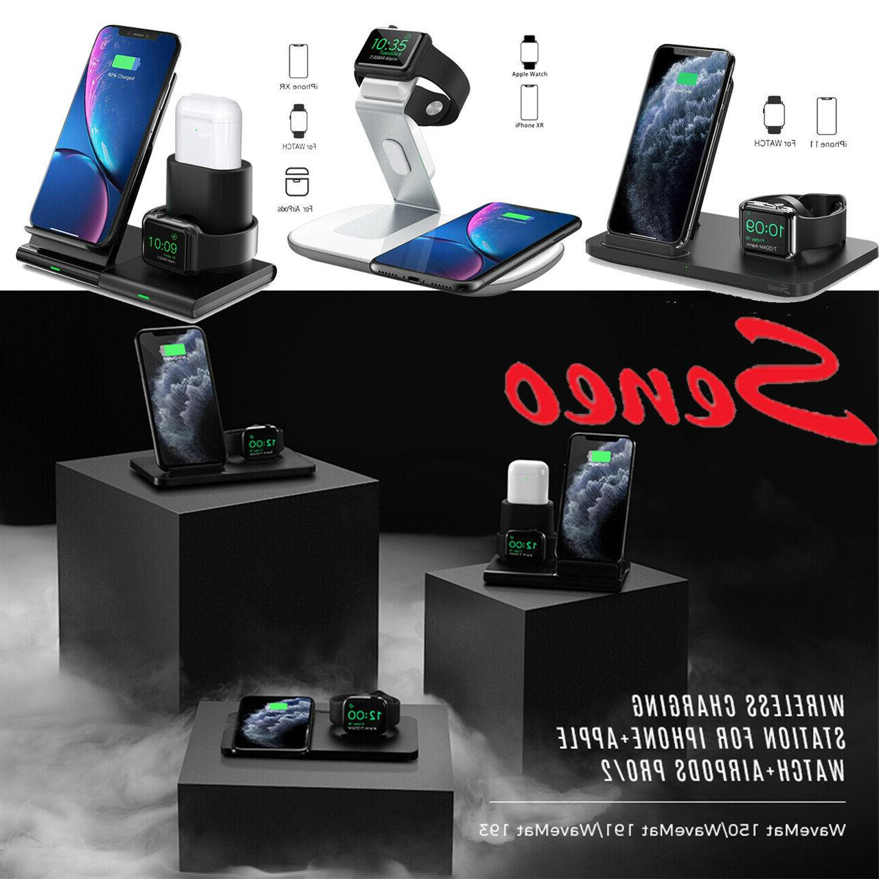 Seneo in1 Wireless Charger Charging Dock Stand 11 Pro Max