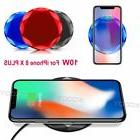 2018 Qi Wireless Charger Fast Charging For iPhone 8/8 Plus/X
