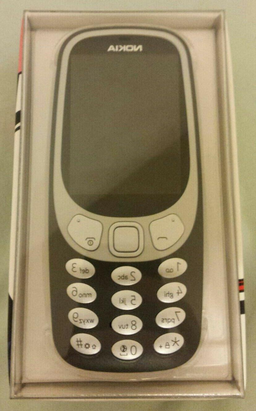 Nokia - 3G Cell Phone GSM Unlocked - Charcoal Brand