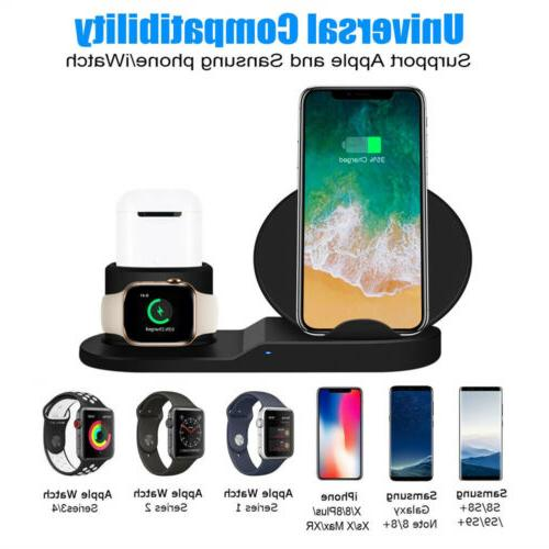 3in1 Charger Dock Stand For Apple iPhone X US