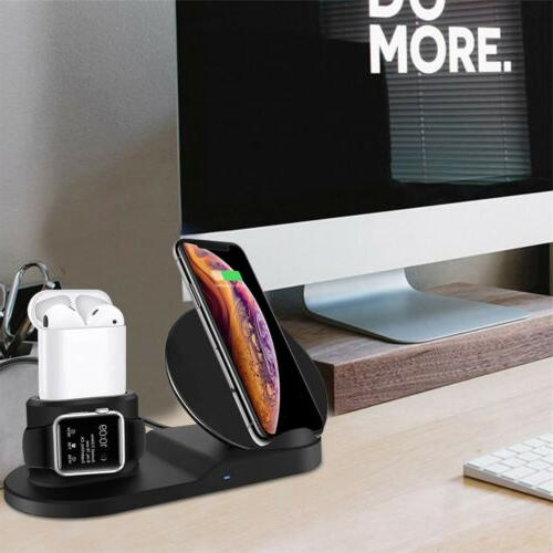 3in1 Wireless Charger Stand Apple X US