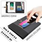 6000mAh USB QI Wireless Charger Power Bank Business Notebook