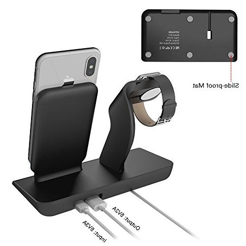 Apple Stand Charging Docks X Wireless Charger iPhone X/8/8 Stand for Watch 3,2,1 Nike