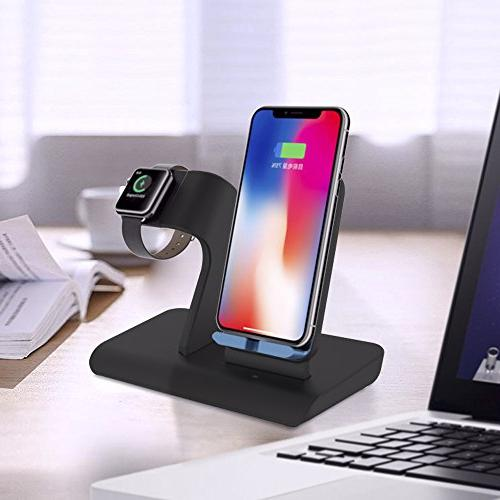 Apple Stand Docks iPhone Stand Holder for Watch 3,2,1 & Nike