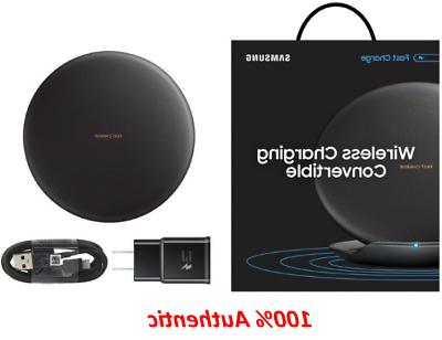Authentic Samsung Qi Fast Charge Black Wireless Charging Con