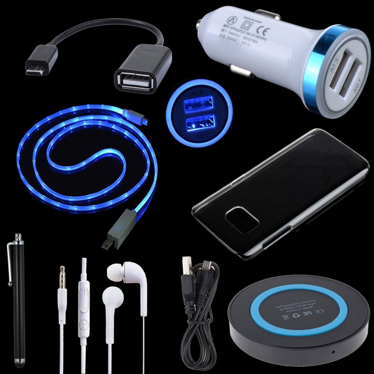 Bundle Accessory for Samsung Galaxy S7 - Charger Pad Car Ada