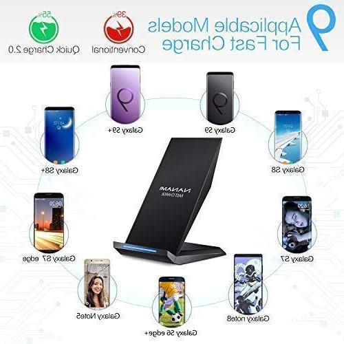Qi Charging X/XS/XR/XS Max/8/8 Samsung Note 9, Galaxy S9 S9+ S8 S7 S7 All Device