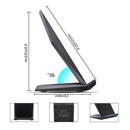 Fast Charging Stand X/XS/XR/XS Samsung Note 9, Galaxy S9+ S7 All