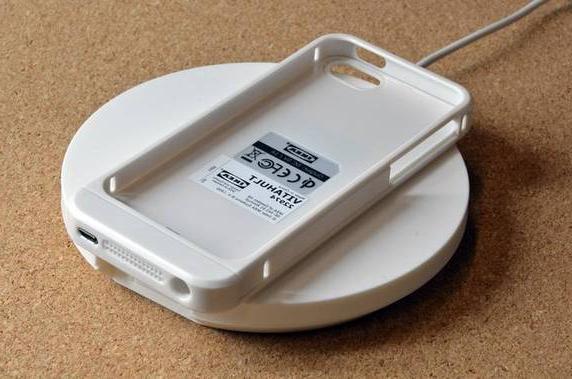 new arrival b0e48 31271 IKEA VITAHULT Charger Wireless charging case for Iphone