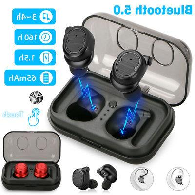 Mini Bluetooth 5.0 Earbuds Sport True Wireless Bass Twins St