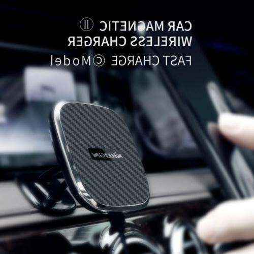 Nillkin C-Type Car Magnetic Wireless Charger Fast Charging F