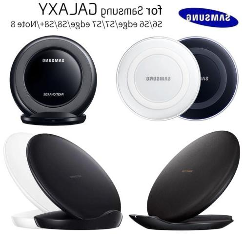 OEM Qi Fast Wireless Charger Pad Stand Dock For Samsung Gala