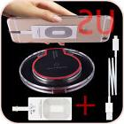 QI Wireless Battery Charger Pad + Receiver Kit for iPhone 5