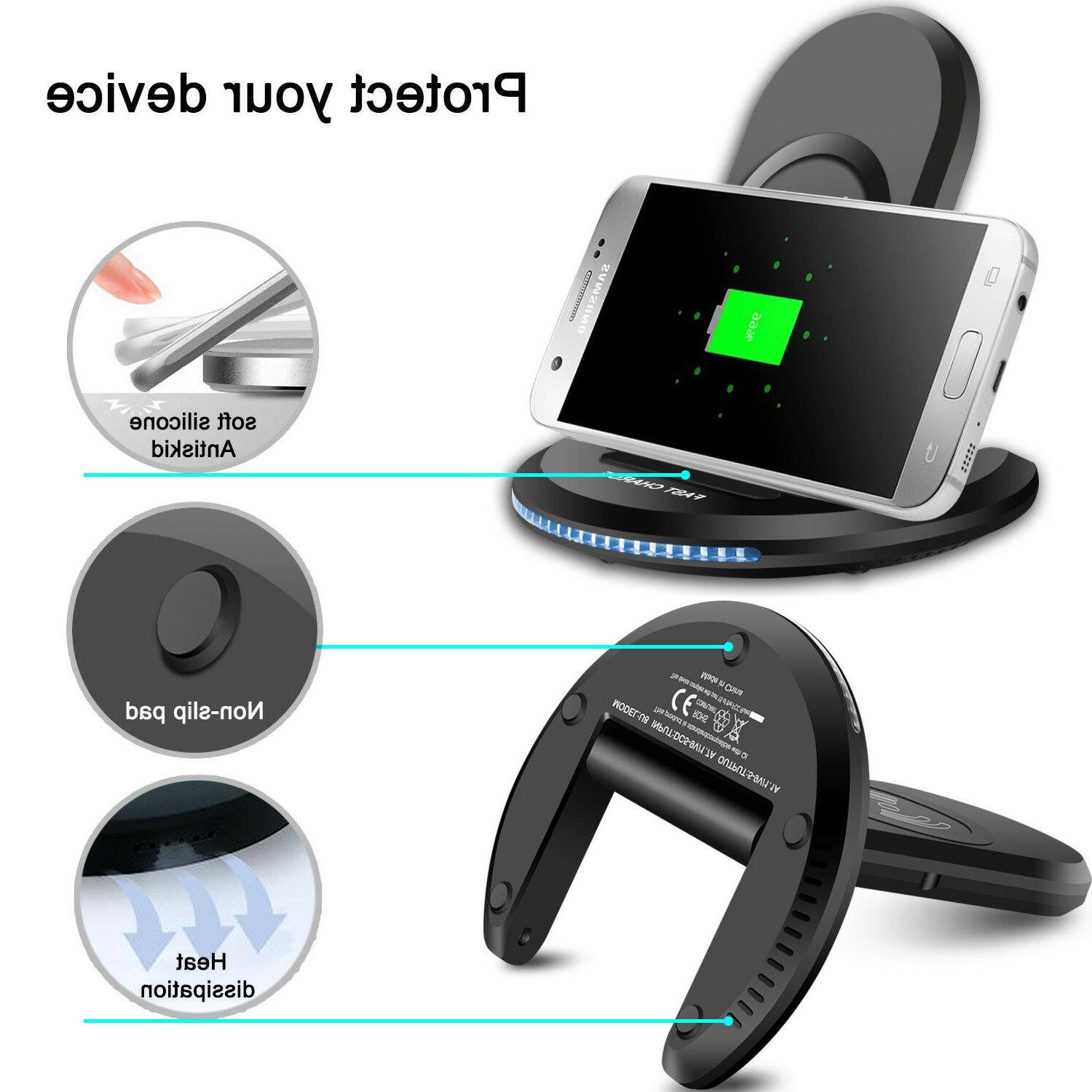 For Samsung 9 / Qi Stand Dock Pad