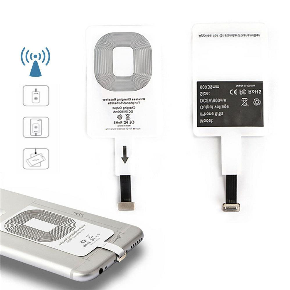 Qi Wireless Charging Receiver For iPhone 5,5S,5C,5SE,6,6S 7