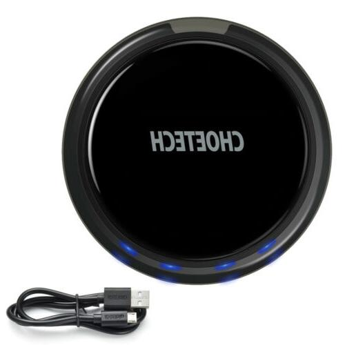 Qi Wireless Charger 10W Charging Pad 10W/7.5W/5W Fast Charge