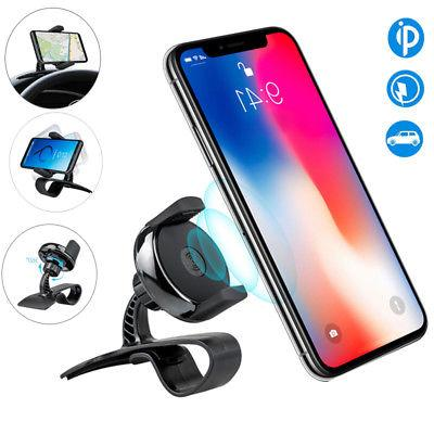 Qi Wireless Charger Car Dashboard Mount Holder HUD Design Cr
