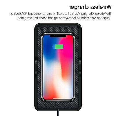 Qi Wireless Charger Charging Pad For iPhone S8 S9