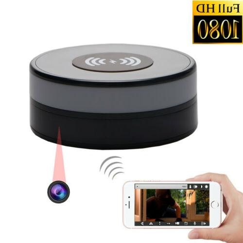 Spy Hidden Camera 90° Lens Rotate 1080P HD Video Recorder W
