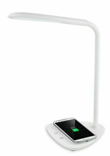 Turcom Adjustable Light LED Lamp w/ Wireless Charger for iPh