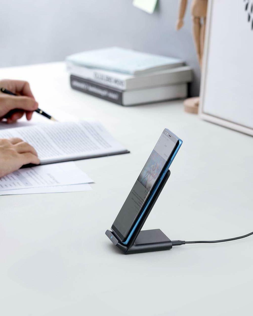 Anker Charger, 10W Wireless Stand, Qi-Certified,
