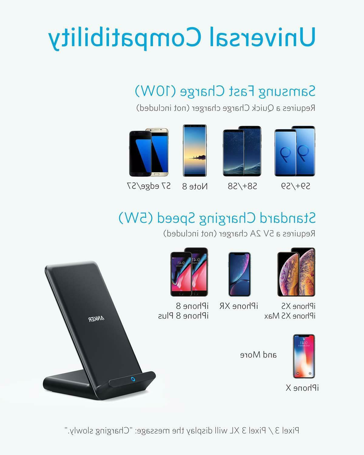Anker 10W Stand, Qi-Certified,