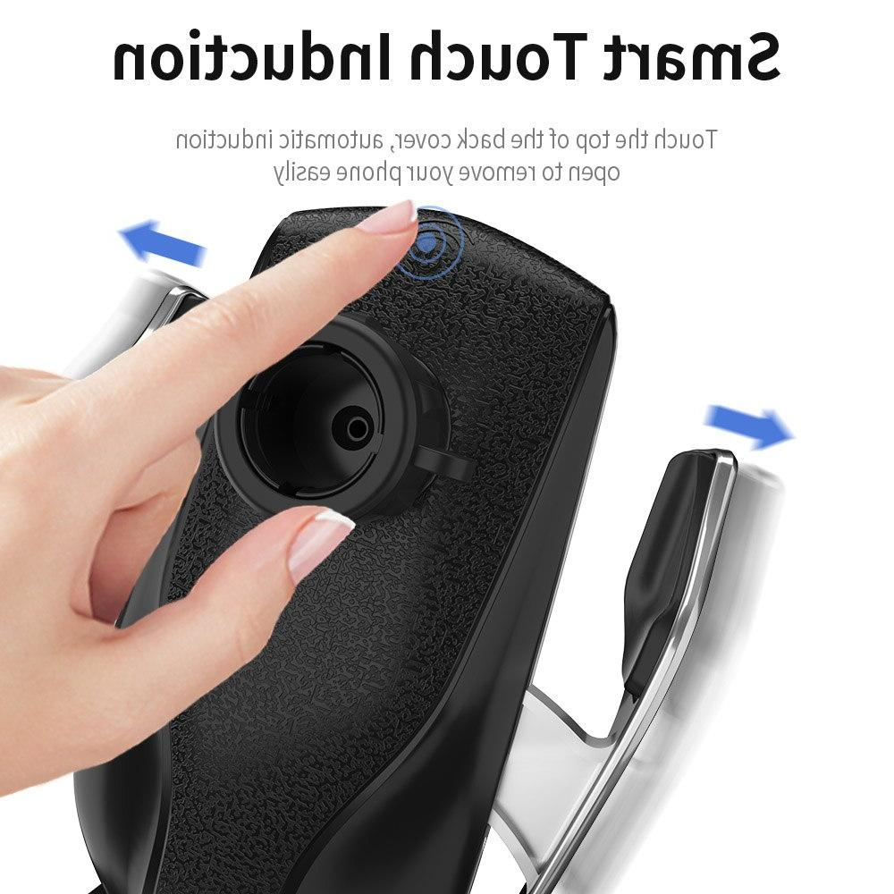 Automatic Car <font><b>Charger</b></font> for XR XS P30 Pro Infrared Phone Holder