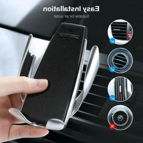 Automatic Qi Charger Car Holder for
