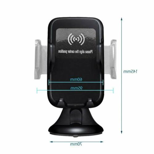 Automatic Qi Charger Car Holder