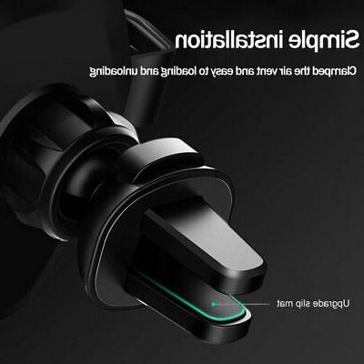 Baseus Car Mount Qi Wireless Charger Fast Charging Pad Holder Stand