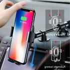 Baseus Qi Wireless Fast Charger Car Mount Holder for iPhone