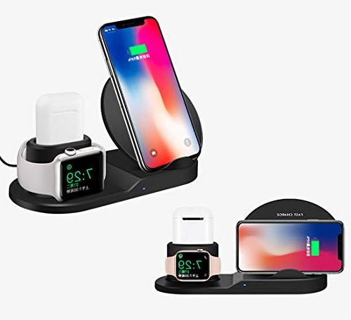 Wireless Charger, iPhone Charger, 3-in-1 Replacement Apple Station Apple X Max/iPhone XR/iPhone