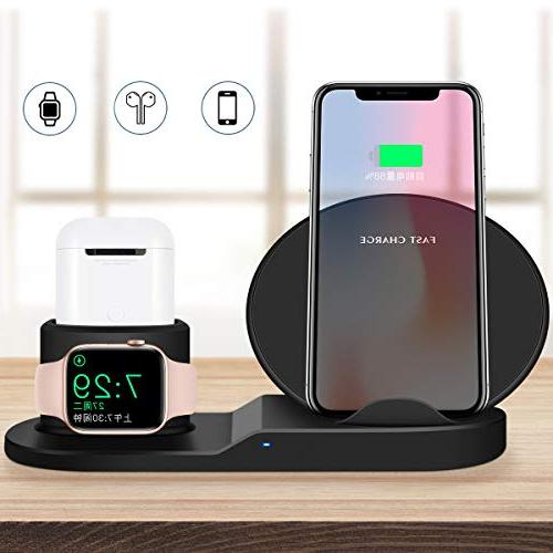 Wireless Charger, iPhone Apple Charging Apple Xs/iPhone X Max/iPhone X/iPhone8/iPhone8Plus