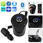 Bluetooth 4.2 Car Kit FM Transmitter Wireless Radio Adapter