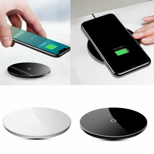 Baseus BSWC - P10 Wireless Fast Charger Aluminium Alloy Glas