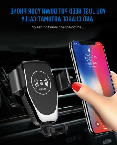 Car Fast Stand Holder For Galaxy S9 S8 S7 S6 Note8