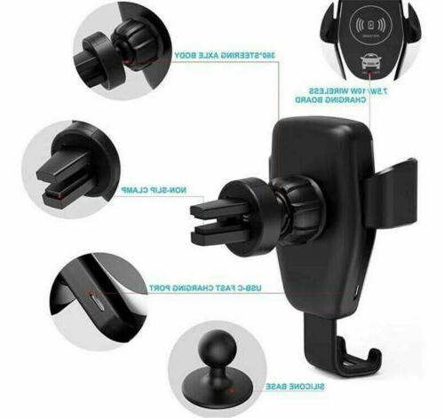 Car Charger Phone Holder Fast iPhone