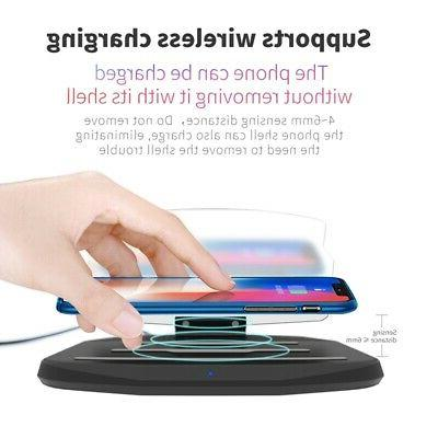 car qi wireless charger hud head up