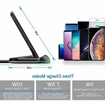 Yootech Charging Wireless Charger,2 Qi-Certified Stand, 7.5W