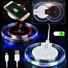 Clear Qi Wireless Fast Charger Charging Pad Samsung Galaxy N