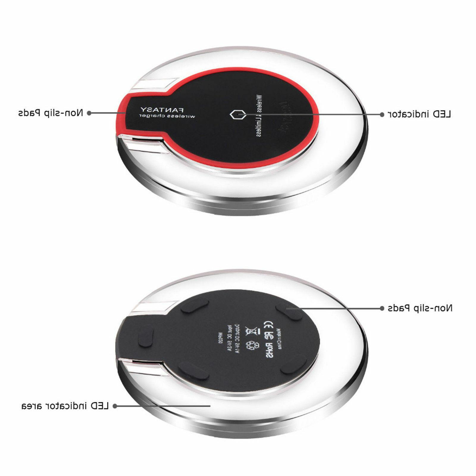 New Qi Wireless Charger Charging Receiver 6 6S 7