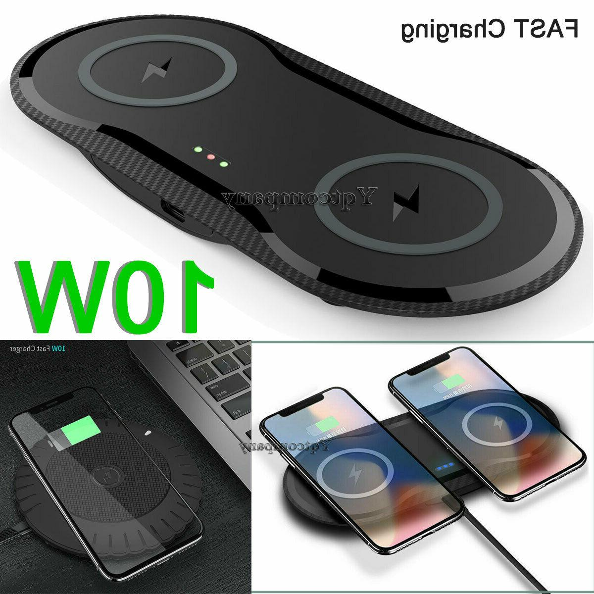 dual single wireless charger fast charging pad