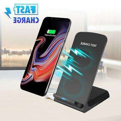 fast charging qi wireless charger for samsung